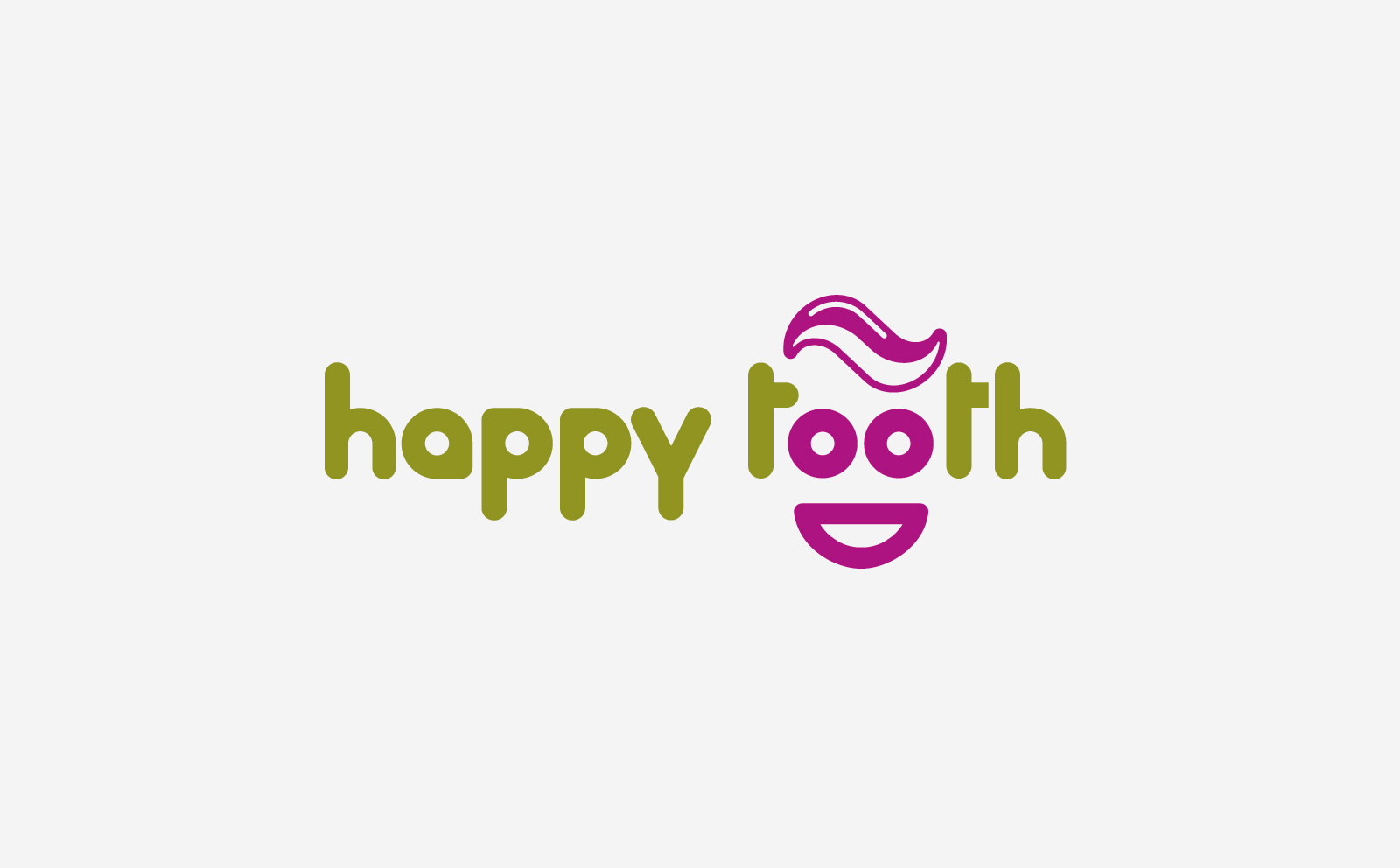 happy tooth logo